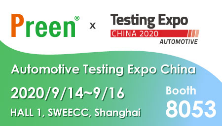 Preen will participate in the 2020 China Testing Expo